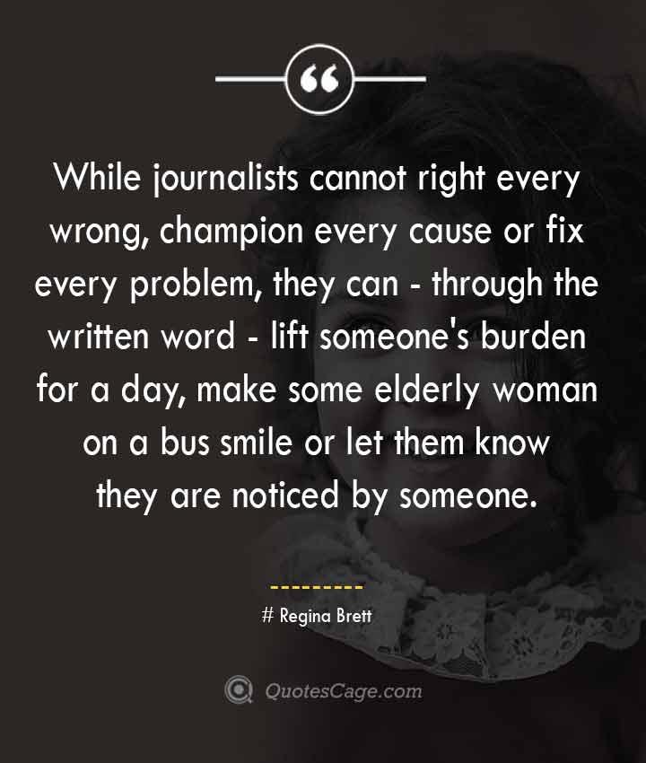 Regina Brett quotes about Smile