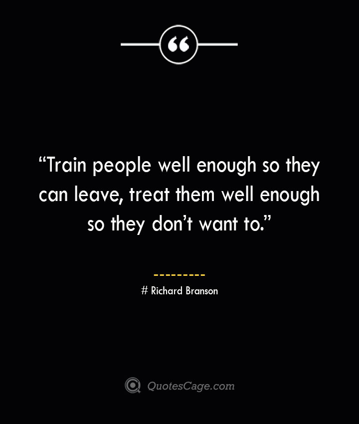 Richard Branson Quotes about Business