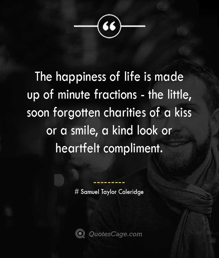 Samuel Taylor Coleridge quotes about Smile