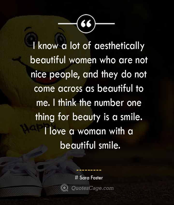 Sara Foster quotes about Smile
