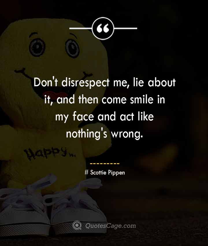Scottie Pippen quotes about Smile
