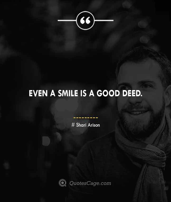 Shari Arison quotes about Smile 1
