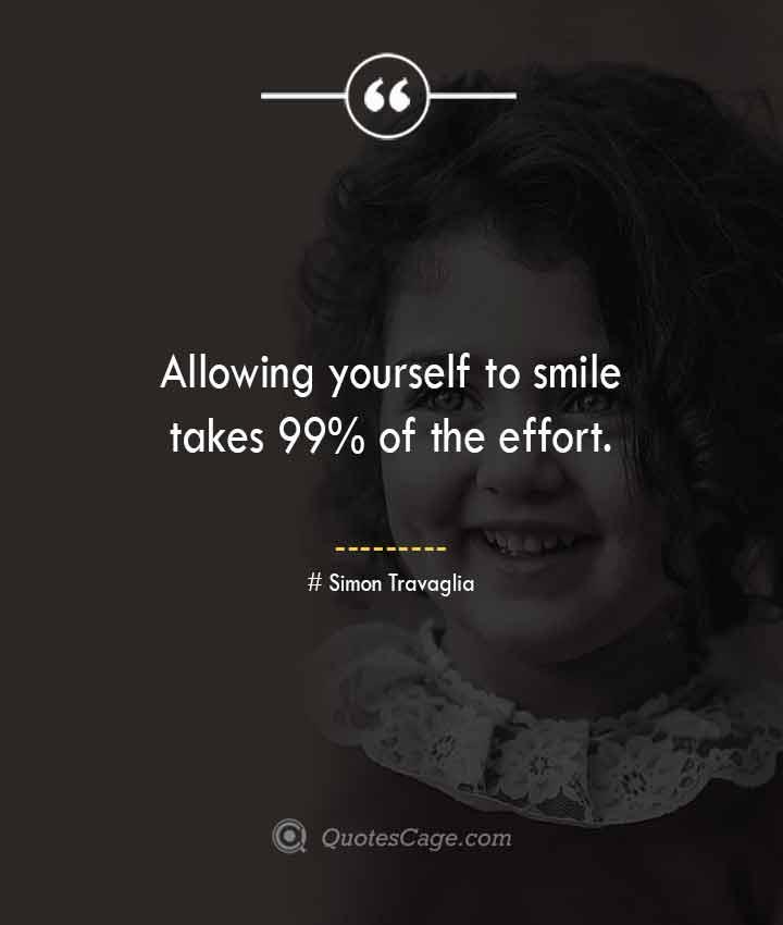 Simon Travaglia quotes about Smile