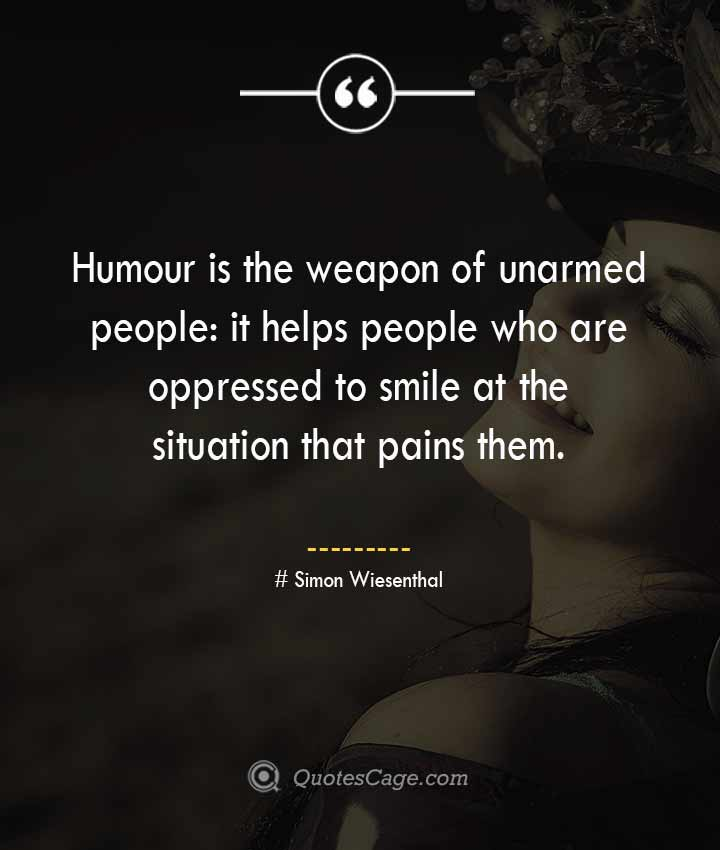 Simon Wiesenthal quotes about Smile