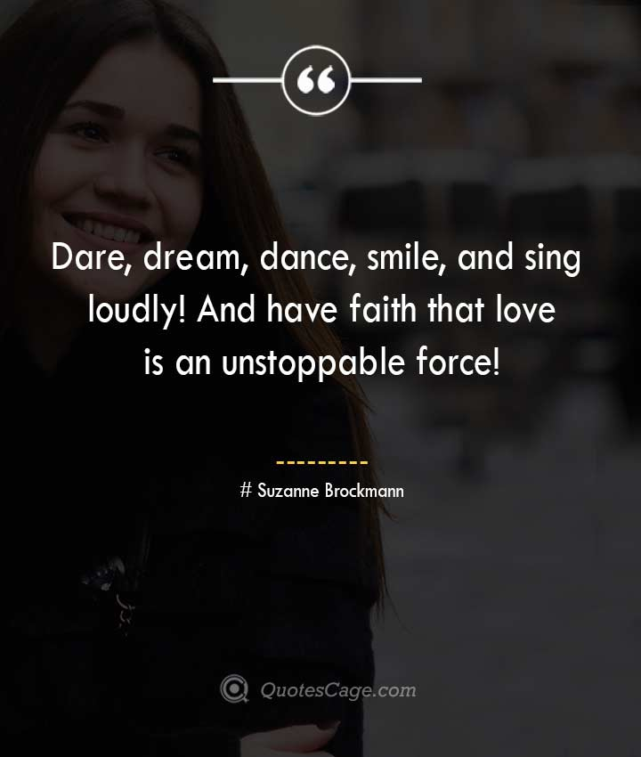 Suzanne Brockmann quotes about Smile