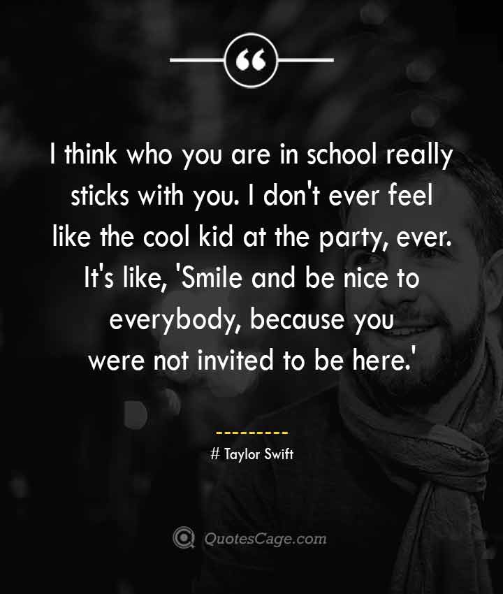 Taylor Swift quotes about Smile