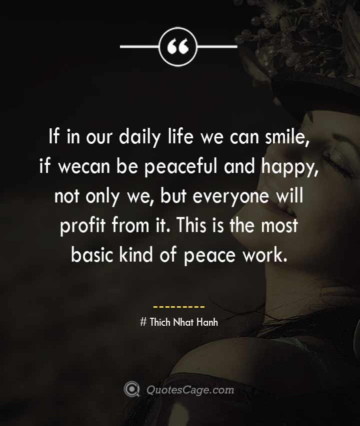 Thich Nhat Hanh quotes about Smile 4
