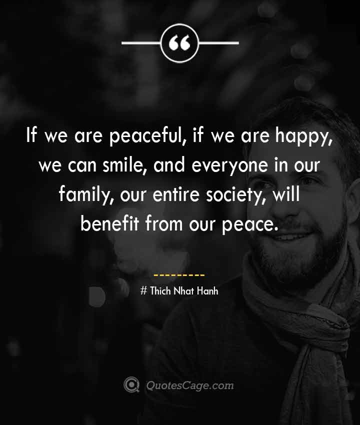 Thich Nhat Hanh quotes about Smile 5