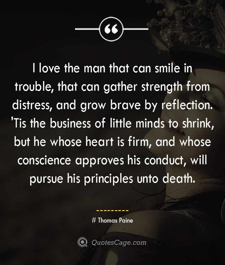 Thomas Paine quotes about Smile 2