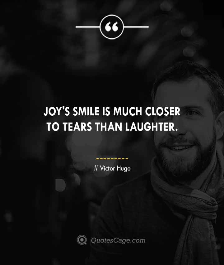 Victor Hugo quotes about Smile 1