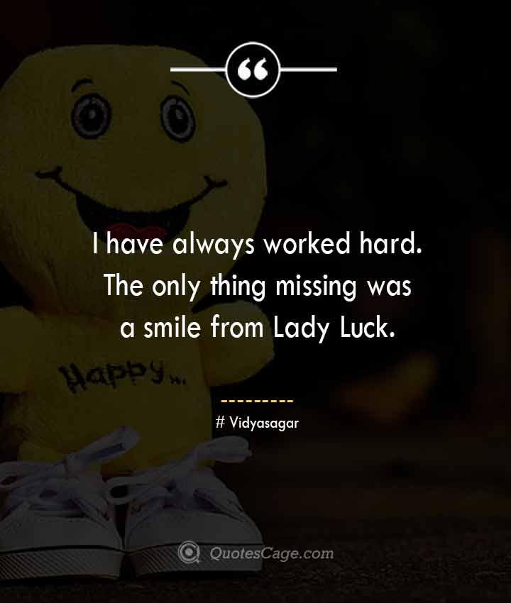 Vidyasagar quotes about Smile
