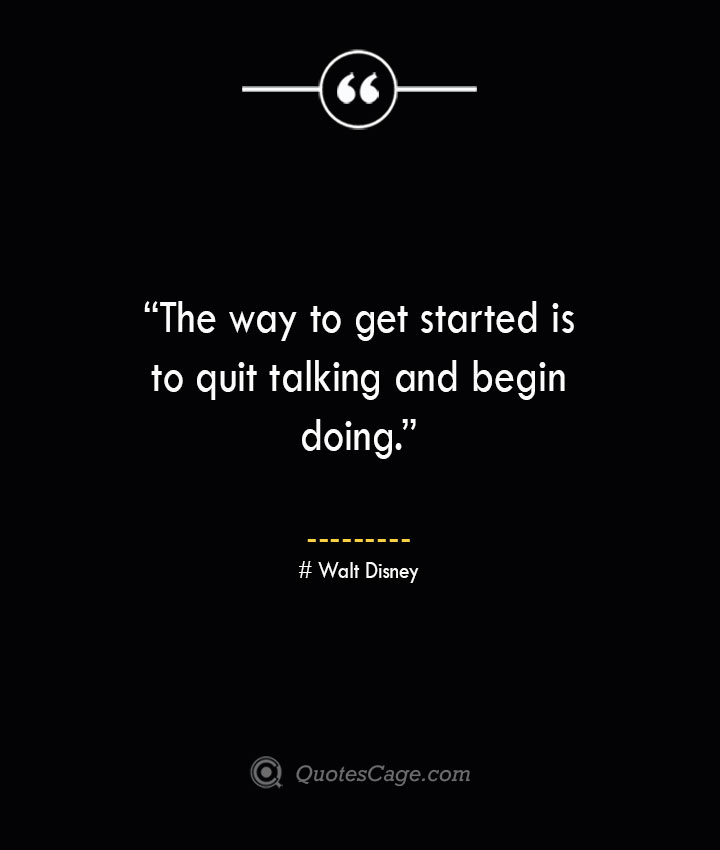 Walt Disney Quotes about Business