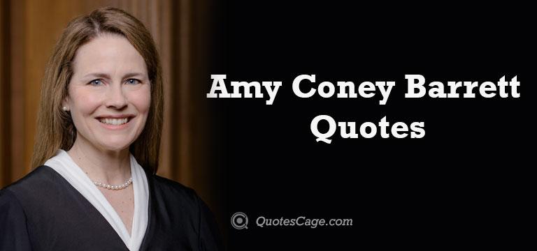 Amy Coney Barrett Quotes