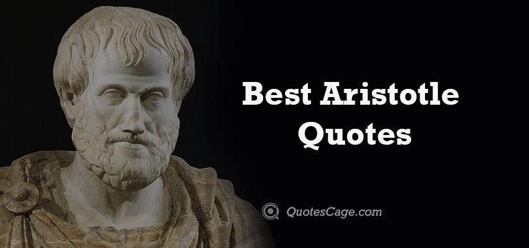 Best Aristotle Quotes