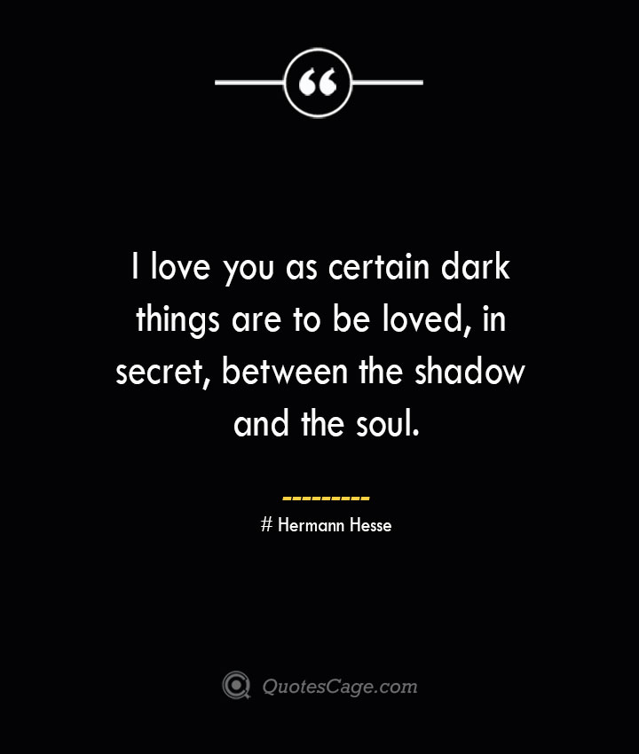 I love you as certain dark things are to be loved in secret between the shadow and the soul.— Pablo Neruda 1