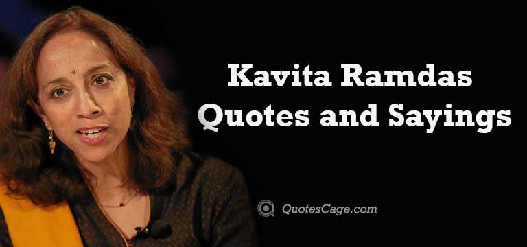 Kavita Ramdas Quotes and Sayings